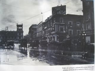 百年前の街角