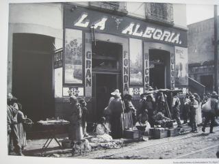 百年前の街