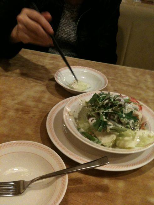 ベーコンとアスパラのサラダ