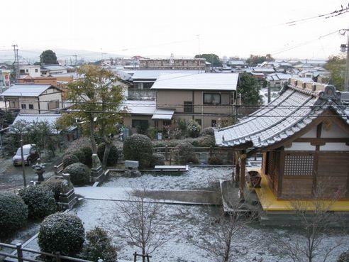 一応雪景色w