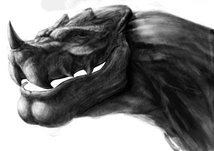 ドラゴンと一人の少女
