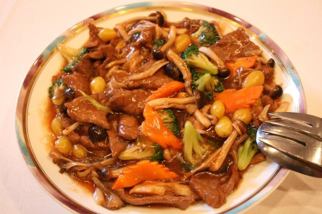 2010-2-14-牛肉炒め