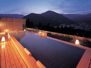 下呂温泉 くさかべアルメリア の、露天風呂