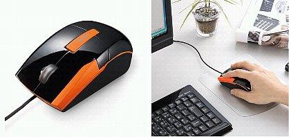 「ジェスチャーマウス(ブラック&オレンジ)MA- GESBKD」