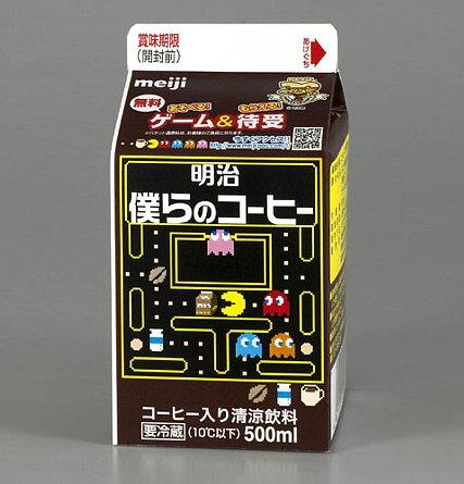 「明治乳業とバンダイナムコゲームス」-1