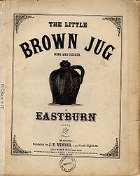 Original 1869 sheet music cover