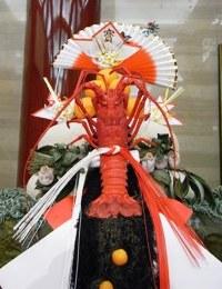 平成22年歌舞伎座の鏡餅