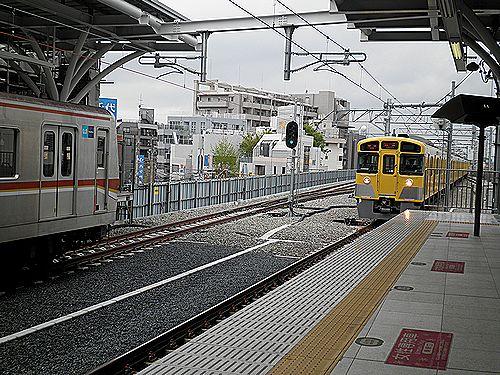 西武石神井公園下り高架化4