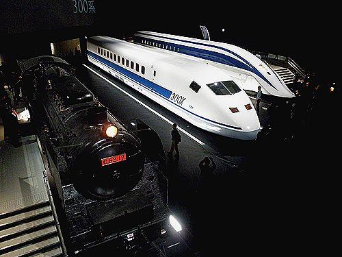 JR東海リニア・鉄道館シンボル展示