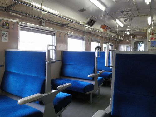 キハ40形車内(江差線)