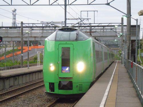 木古内駅・「スーパー白鳥42号」