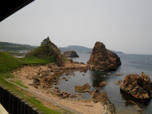 五能線・広戸~深浦間