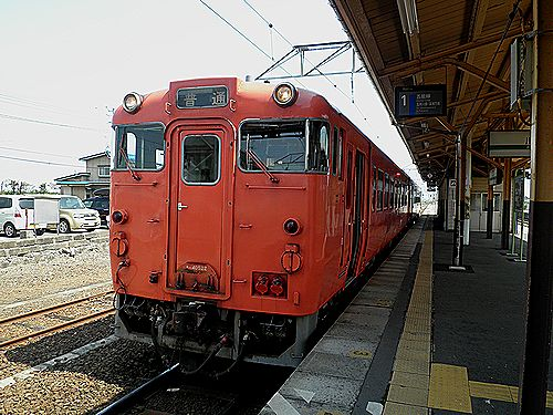キハ40 522(秋アキ)・1