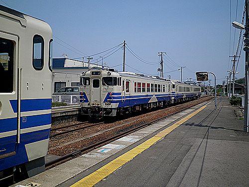 五能線鯵ヶ沢
