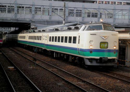 485系「いなほ14号」・秋田
