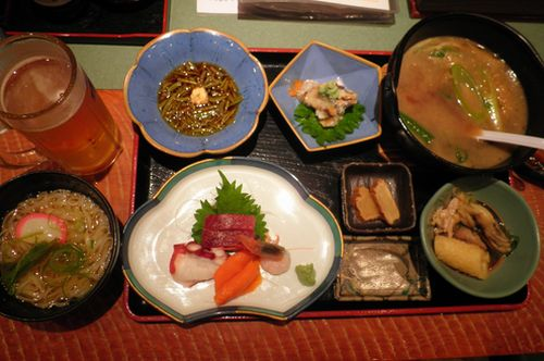 秋田料理のセット