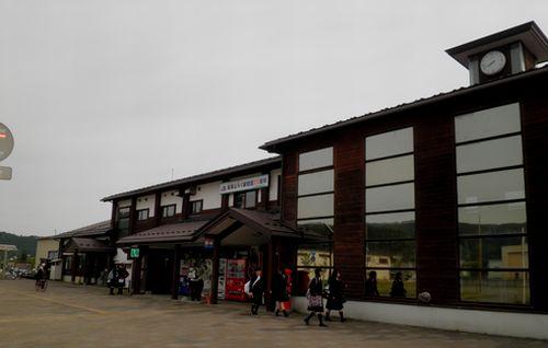由利高原鉄道矢島駅(現)