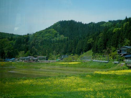 秋田内陸縦貫鉄道・阿仁マタギ付近