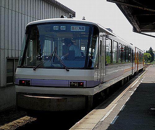 秋田内陸縦貫鉄道AN8800形(鷹巣駅)