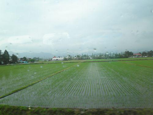 奥羽本線(山形新幹線)赤湯付近