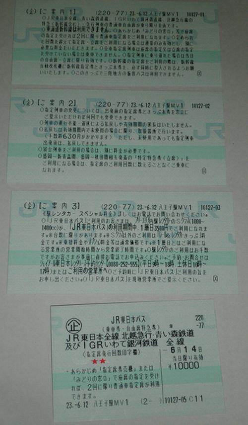 JR東日本パス2