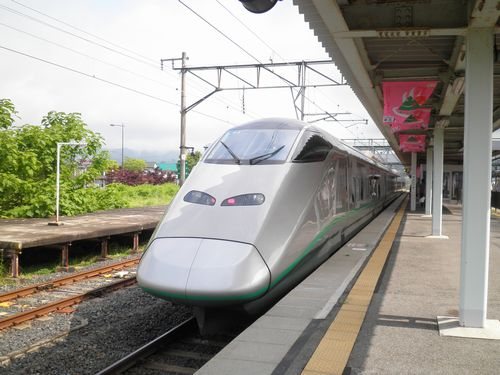 E3系「つばさ」(赤湯駅)