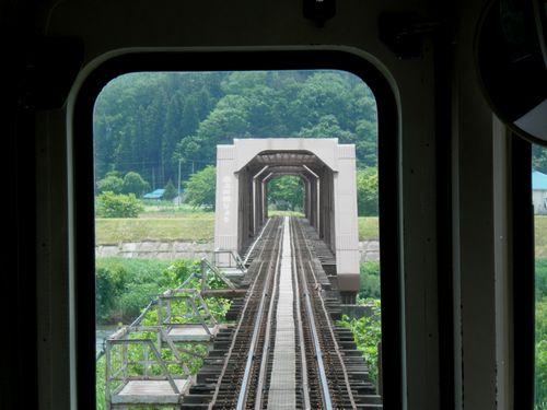 山形鉄道最上川橋梁