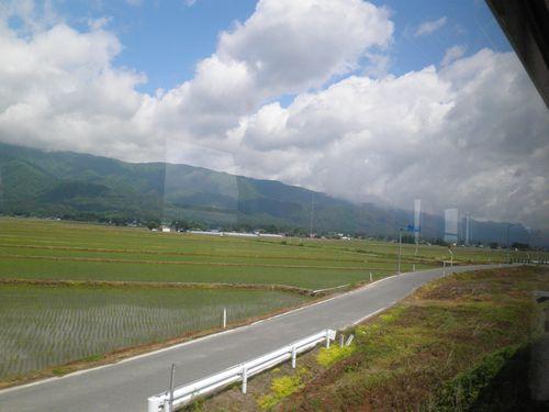 山形鉄道羽前成田~白兎駅