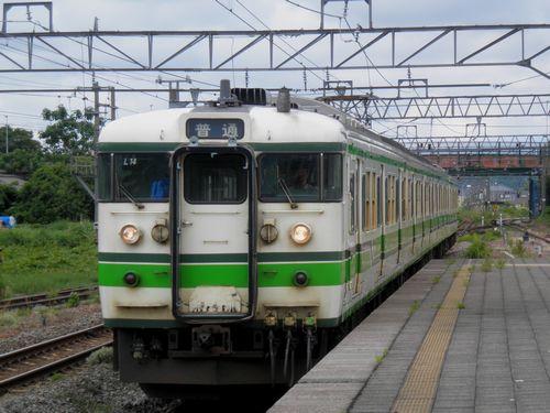 新ニイ115系L14編成(羽越本線坂町駅)
