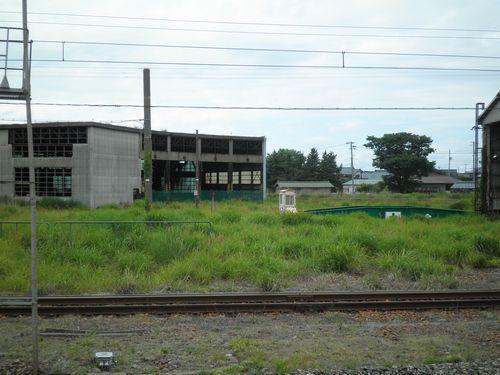 旧・坂町機関区跡