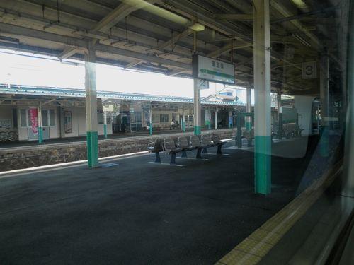 信越本線東三条駅ホーム