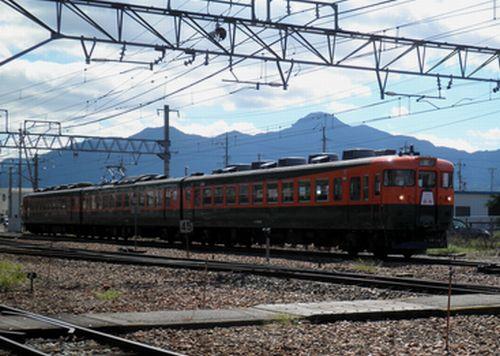 しなの鉄道169系「リバイバル信州」(2010年9月25日)