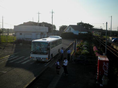 鹿島臨海鉄道大洗鹿島線大洋駅・代行バス