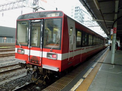 鹿島臨海鉄道・キハ6000(水戸駅)