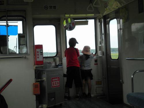 ひたちなか海浜鉄道・子供たち