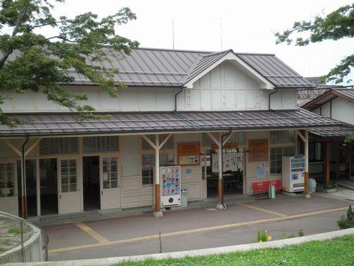旧・湯田中駅舎