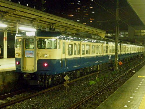 八トタ115系M40編成「富士河口湖号」・2