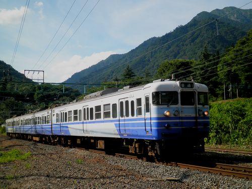 115系・新ニイN14編成(土合駅)