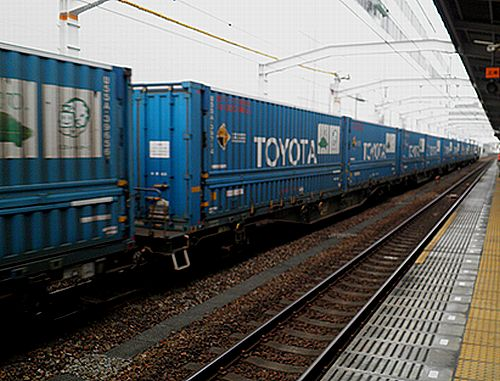 「トヨタロングパスエクスプレス」(静岡駅)