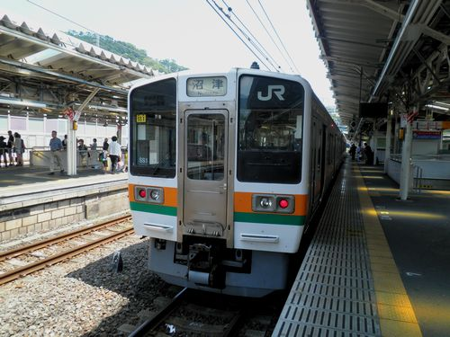 静シス211系「SS1」編成(熱海駅)