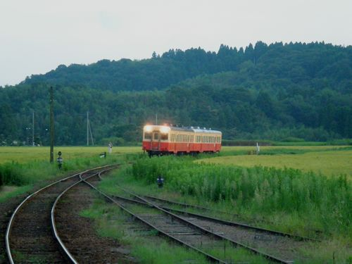 小湊鉄道・列車(上総鶴舞)