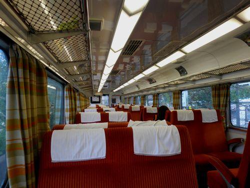 大井川鉄道16000系車内