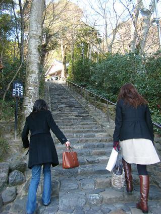 鈴虫寺へ2