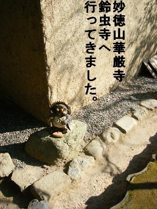 鈴虫寺へ4