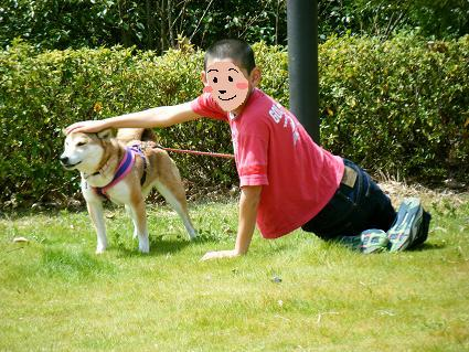 わんこお花見2010!18
