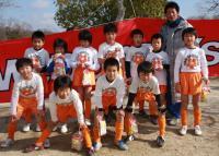 サッカー少年集合