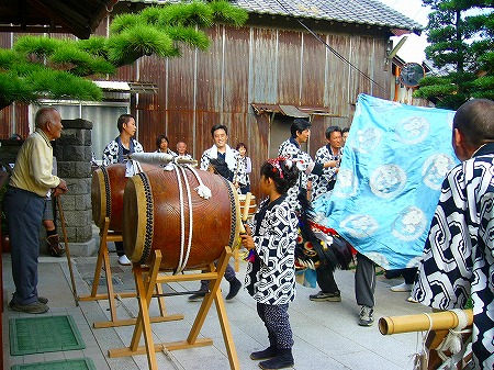 祭りの太鼓1