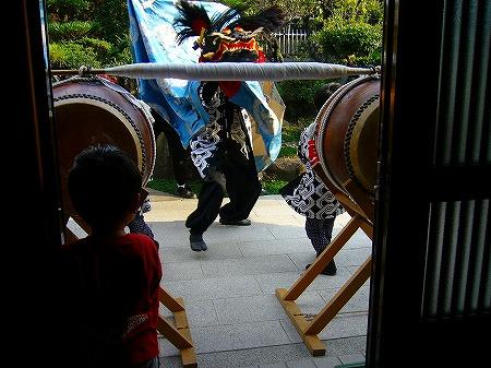 祭りの太鼓3