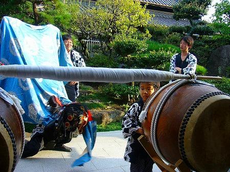 祭りの太鼓2