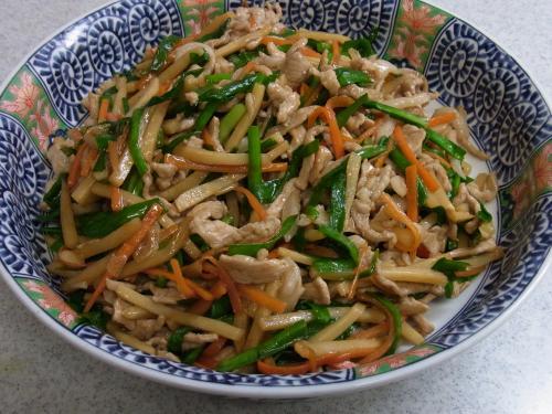 110717-010豚細切り肉と野菜のオイスターソース炒め(縮小)